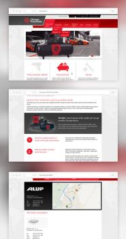 Webdesign for selling company by dan-Es
