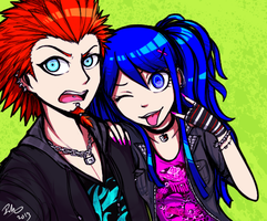 Too punk for you by firehorse6