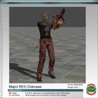 Majini RE5 Chainsaw by Adngel