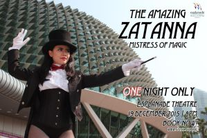 Zatanna: Live in Singapore! by skjlbutlersftw