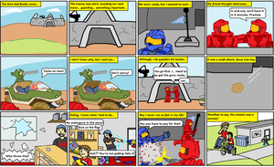 Halo 3 Comic by Tailsvader