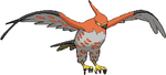 Talonflame 3D Sprite by KrocF4