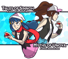 Nuzlocke: The Two Heroines by ky-nim