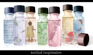 Bottled Inspiration by mindilina