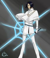 Uryu by CrypticRiddlers, color by Merides