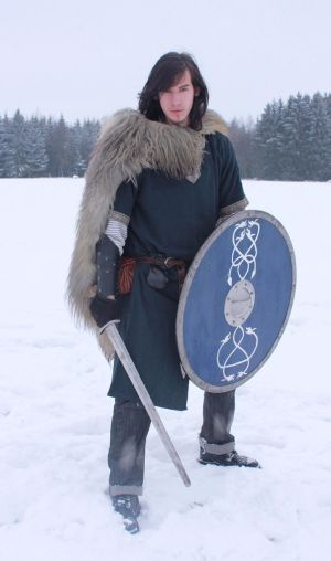Nordic Warrior by Liancary-Stock