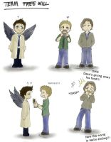 Team Free Will by Iryann