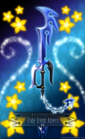 Keyblade Tide from Abyss by Marduk-Kurios