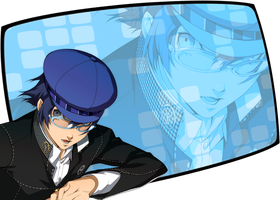 Naoto Shirogane Wallpaper by MariSanomaFanFic