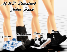 {MMD Download} Male Shoe Pack by MariCorsair