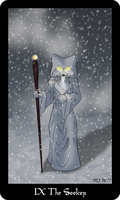 Vulpine Tarot - The Seeker by Mabon-Tail