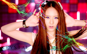 f(x) Krystal Electric Shock Wallpaper by Awesmatasticaly-Cool
