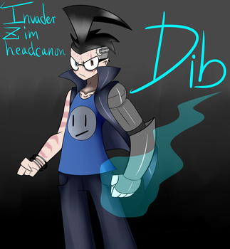 InvaderZim headcanon Dib pic by ReneesInnerIrken