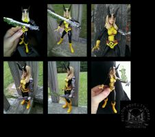 Marvel Legends Style Magik Illyana Rasputin Figure by ayelid