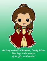 Disney Princesses-Belle's Christmas by Shanachie-fey