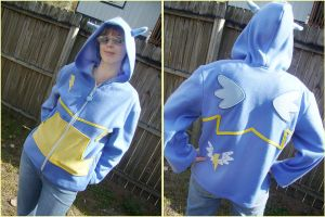 Wonderbolts My Little Pony FIM Hoodie by Monostache