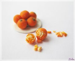 Tangerines by Zhoira