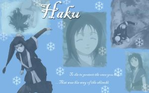 Haku Wallpaper by Hakus-Love