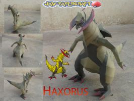 Haxorus Official picture by javierini