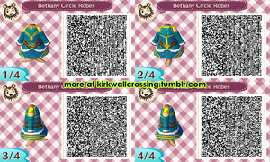 ACNL Bethany's Circle Robes by meglish