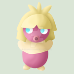 PKMNation: Peaches the Smoochum by OtaPotato