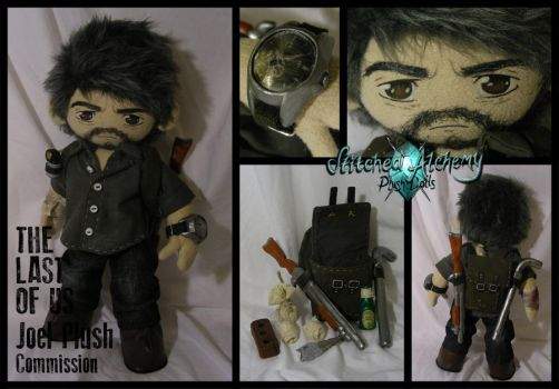 The Last of Us: Joel Plush Commission by StitchedAlchemy