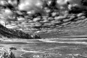 BW Aireys Inlet Beach by DanielleMiner