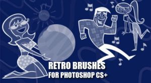 Retro Cartoon Brushes by fiftyfivepixels