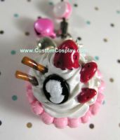 Cameo cupcake charm by The-Cute-Storm