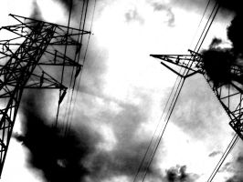 sumie powerlines3 by ScottMan2th