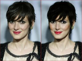 Winona Ryder retouch by SwiftlyGoTheDays