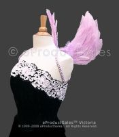 Lilac feather ANGEL WINGS by eProductSales