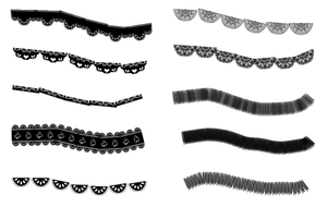 Kena MAKF Brush Set 1 (for Photoshop) by kenamakf