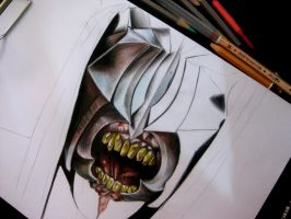Mouth of Sauron WIP by MORGANA0ANAGROM