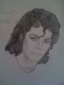 Michael Jackson by Chris Marsh (aged 12) by ChrisMarshXD