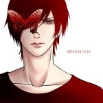 Red butterfly by RedSeroja