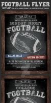American Football Flyer Template by Hotpindesigns