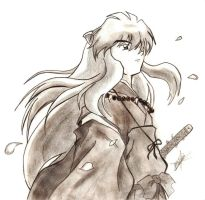 Inuyasha ' Wind' by Inuyasha-no-e