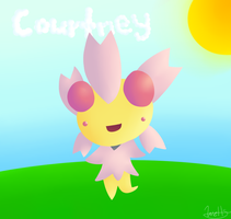 Cherrim for Courtney by maplexsonic