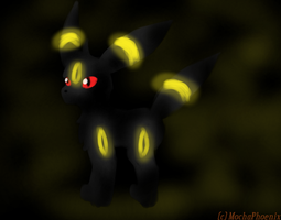 ._Umbreon Glow_. by MochaPhoenix