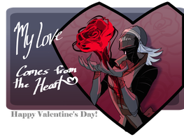 Rose for my Valentine by PailKnight