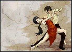 Tokka Week: 4. Two to Tango by Empty-Smile