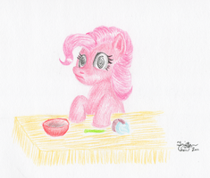 Pinkie Found a Magic Flower and... Oh Dear... by KuroiTsubasaTenshi