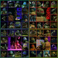 TMNT:: Bro: collage by Culinary-Alchemist