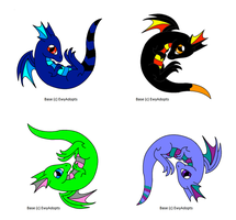 Dragon Adopts XD CLOSED by ToxicSkullie027