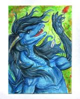 Aceo for ExiiinKa by Eva-the-DragonLady
