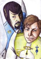 StM_Definitly Spock and Kirk by Sisterax---XD