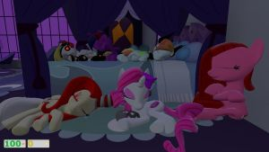 after a day of chaos by darkmaster434