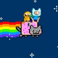 Nyan With Finn n' Jake by maryphantom11