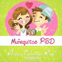 Happy Valentines Day .PSD by iCrayolaa